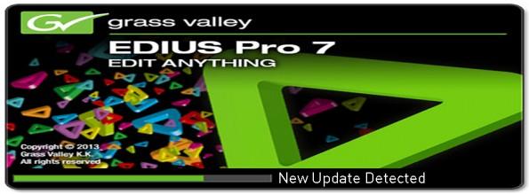 Edius Pro 7 için yeni güncelleme