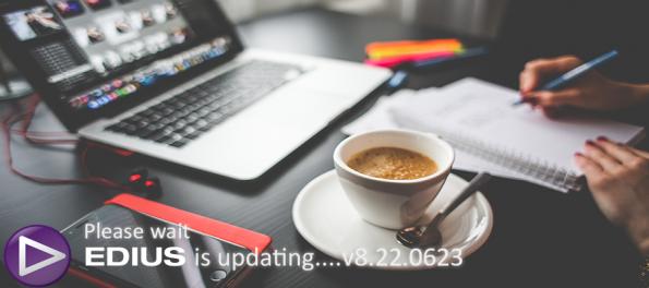 Edius 8 için yeni bir ücretsiz güncelleme